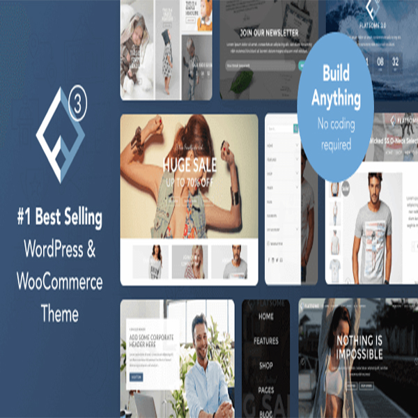Flatsome- Multi-purpose Responsive Woocommerce theme