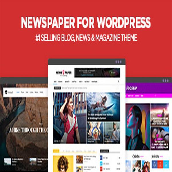 Newspaper - wordpress theme