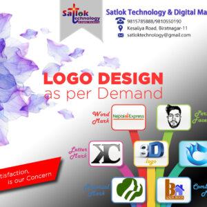 logo design satlok technology